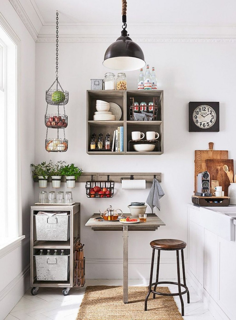 12 First Apartment Decorating Ideas on A Budget  Small apartment  - Apartment Kitchen Wall Decor Ideas