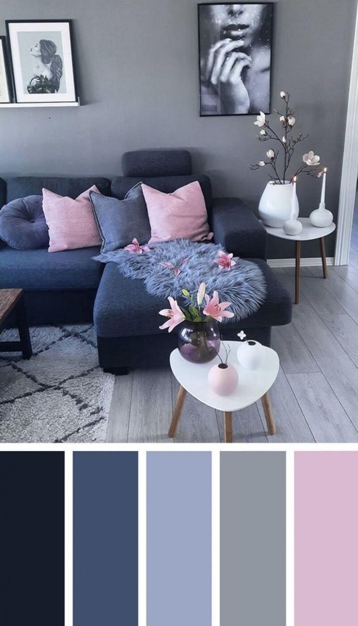 12 Gorgeous Living Room Paint Color Ideas for the Heart of the  - Apartment Design Color Scheme