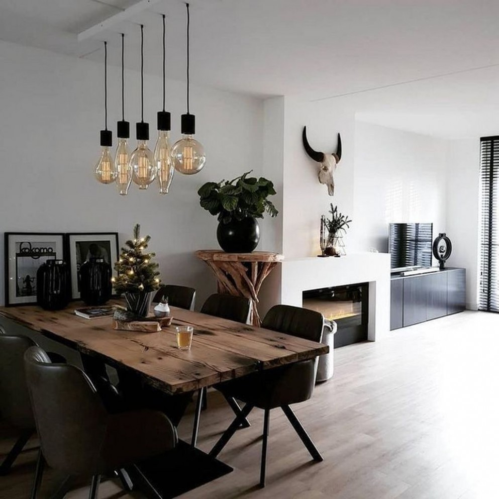12 Gorgeous Modern Dining Room Ideas You Will Love - MOOMHOMEE - Dining Room Ideas Contemporary