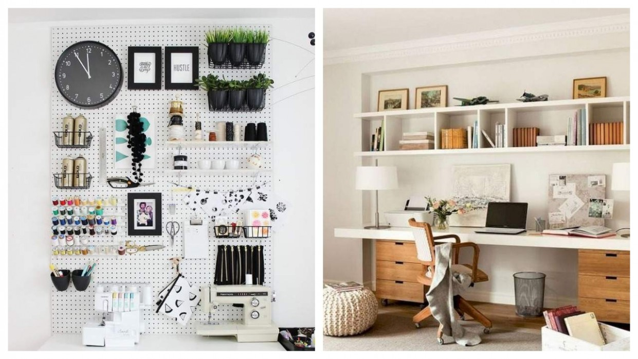 12 home office ideas that will keep you to motivated to work all-day - Home Office Ideas Diy