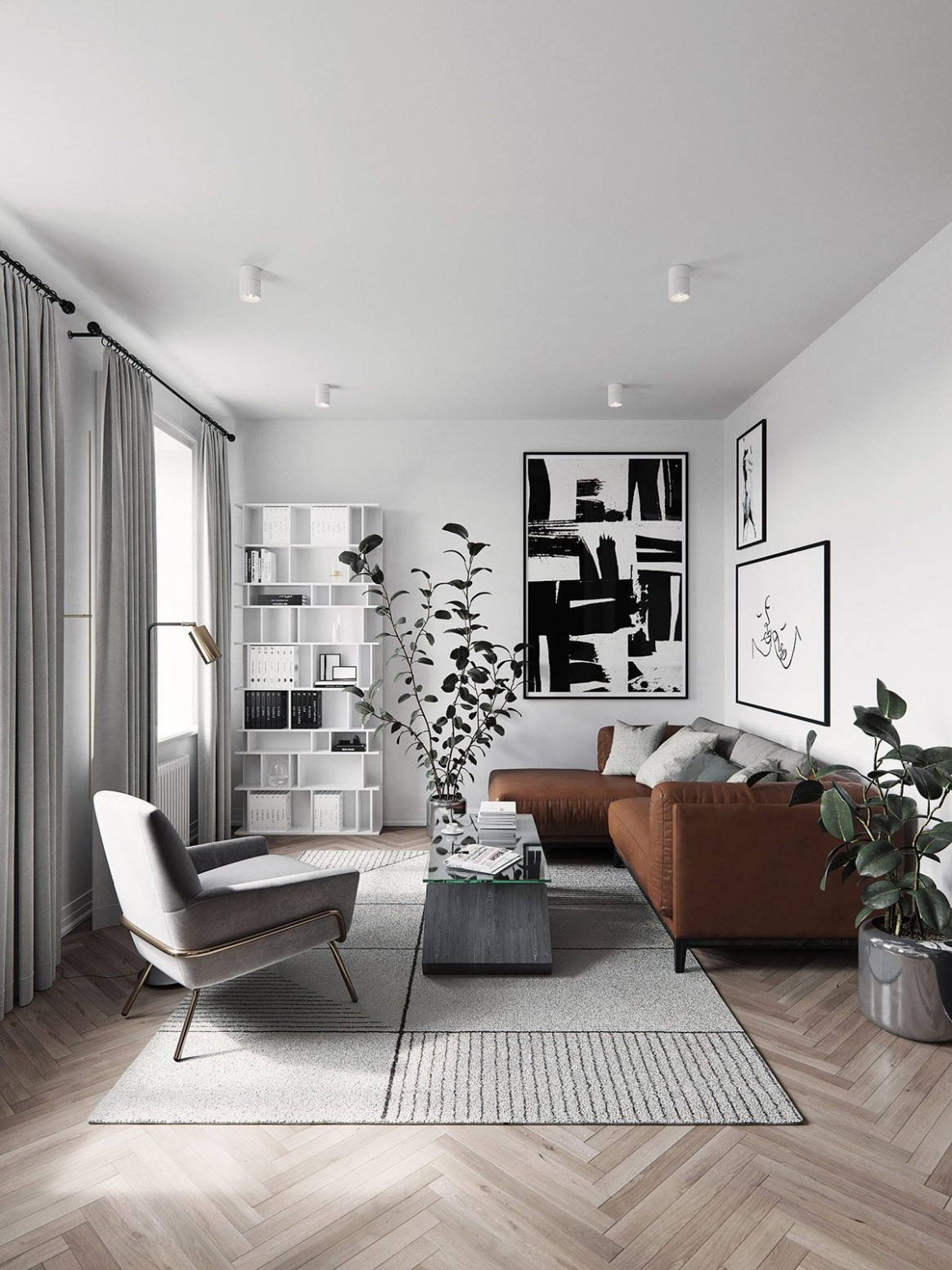 12 Homes Inspired by Different Takes on Nordic Interior Design  - Scandinavian Apartment Decor Ideas