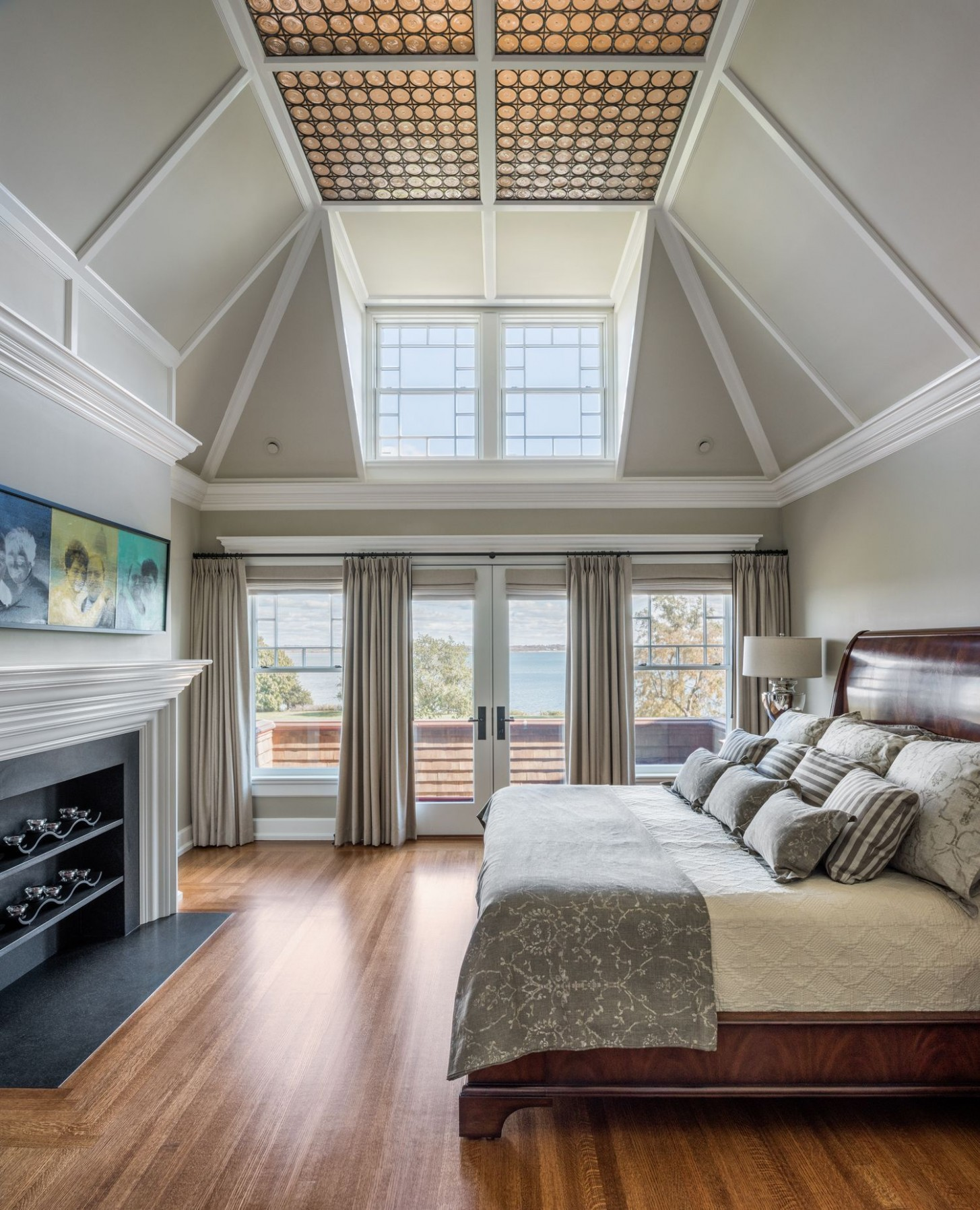 12 Ideas For Extra High Ceilings  High ceiling bedroom, High  - Bedroom Ideas High Ceilings