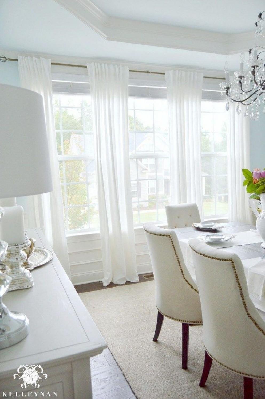 12+ Inspiring Ikea Dining Room Design Ideas - TRENDHMDCR  Dining  - Dining Room Drapery Ideas