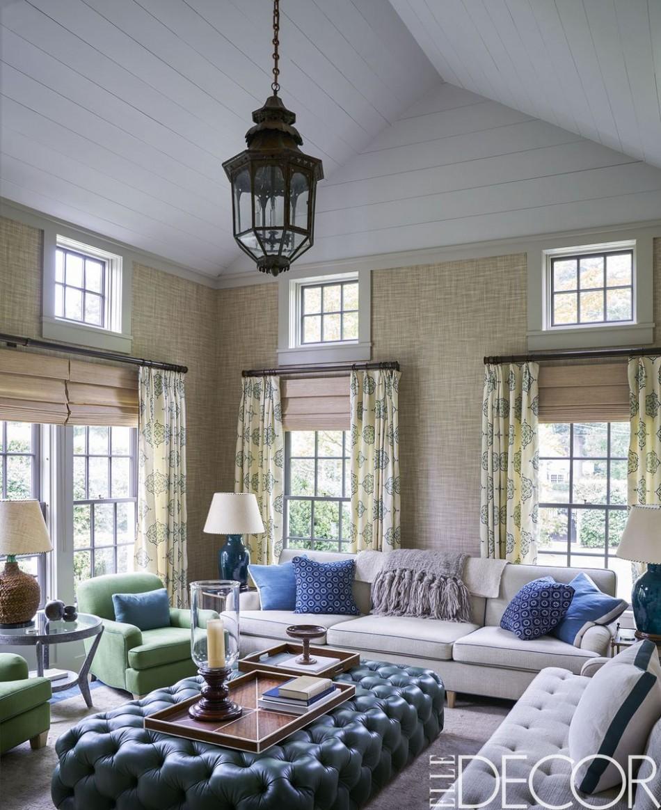 12 Inspiring Living Room Curtain Ideas - Elegant Window Drapes - Dining Room Drapery Ideas