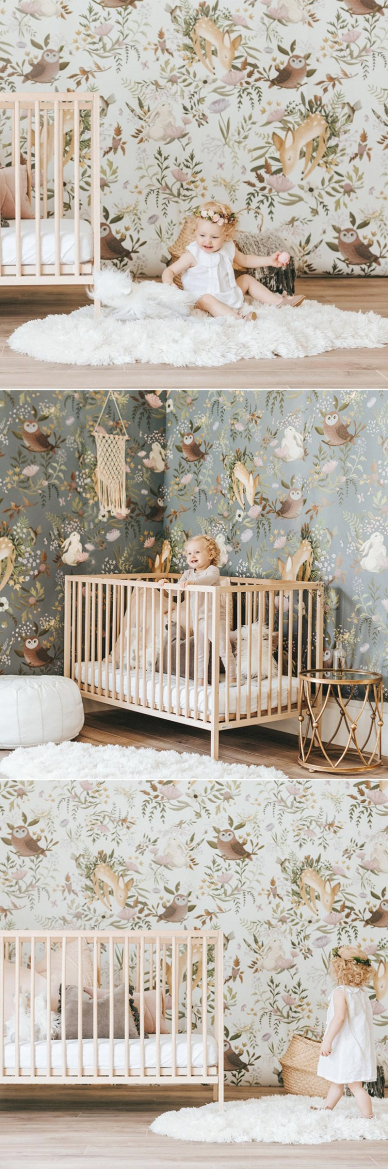 12 Modern Nursery Wallpaper Ideas That Create Stylish Baby Rooms  - Baby Room Wallpaper Ideas