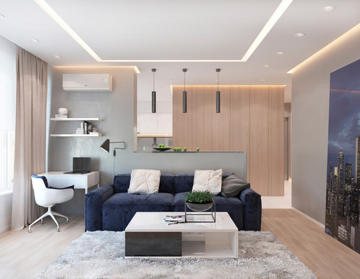 12 One Bedroom Apartments with Modern Color Schemes - Apartment Design Color Scheme