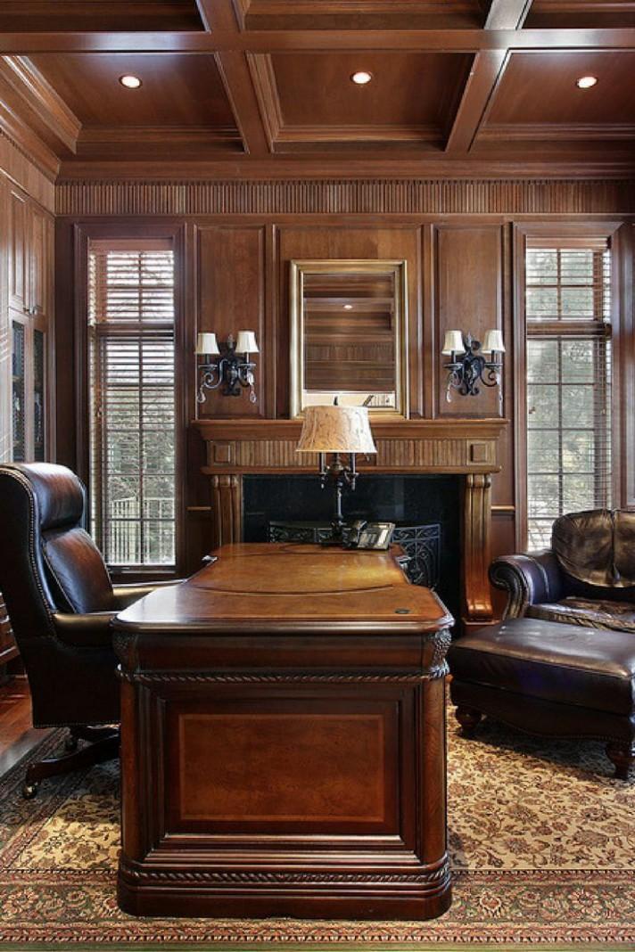 12 Really Great Home Office Ideas (Photos)  Corporate office  - Executive Home Office Ideas