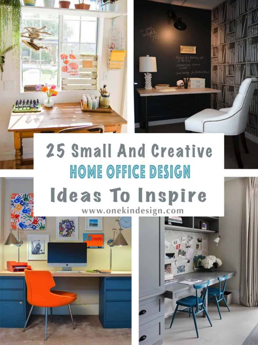 12 Small And Creative Home Office Design Ideas To Inspire - Home Office Ideas Small