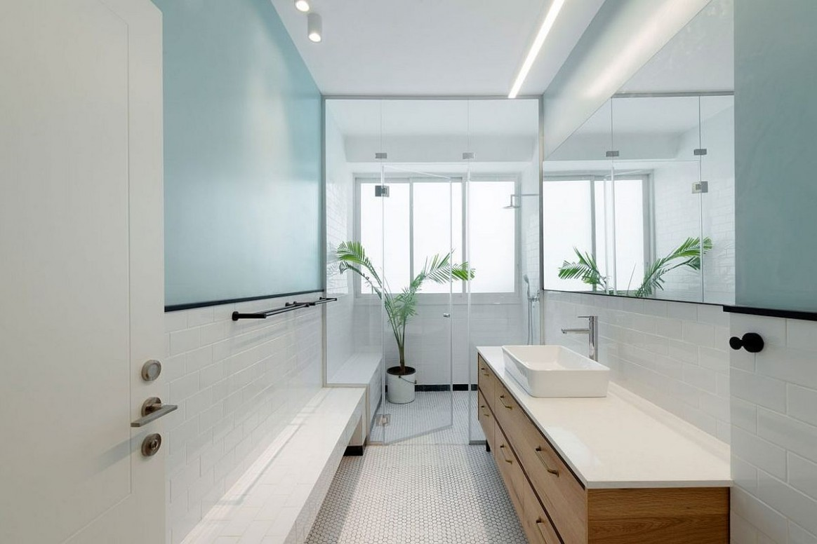 12 Small Apartment Bathroom Ideas that Maximize Space and Efficiency - Apartment Washroom Design