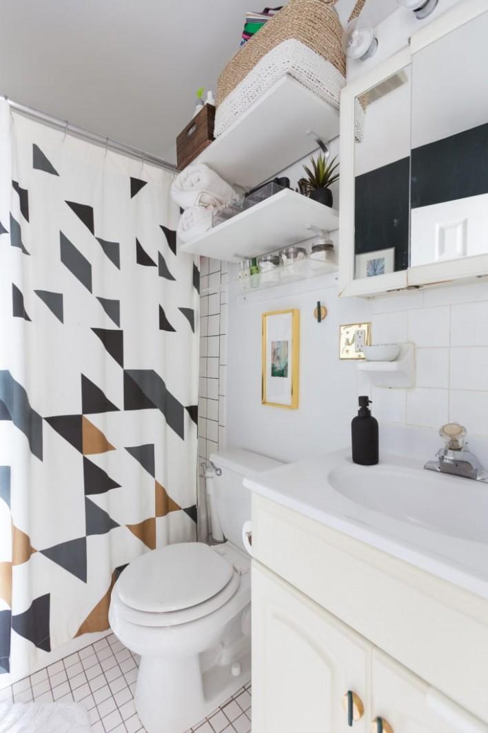 12 Small Bathroom Storage & Design Ideas - Storage Solutions for  - Apartment Washroom Design