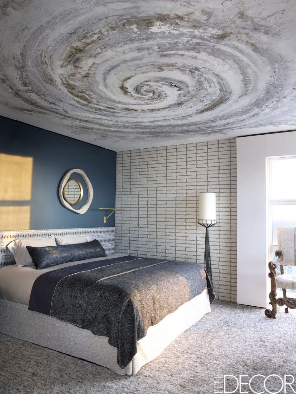 12 Stylish Gray Bedrooms - Ideas for Gray Walls, Furniture & Decor  - Bedroom Ideas Grey And Blue