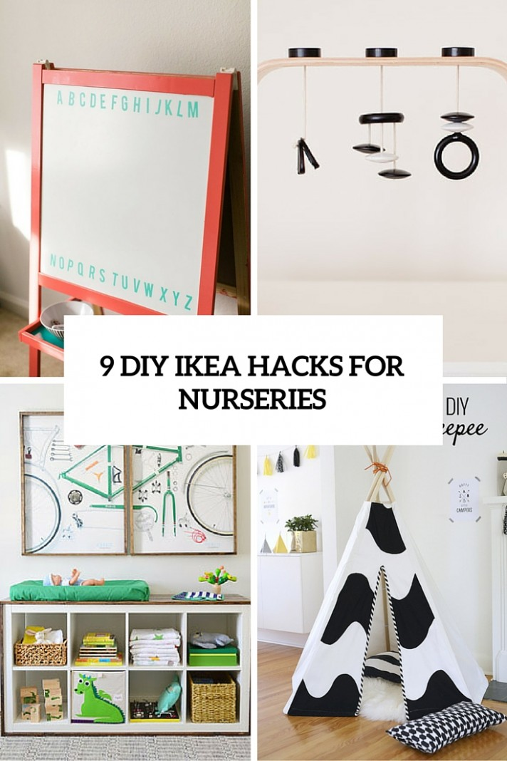 12 Totally Charming DIY IKEA Hacks For A Nursery - Shelterness - Baby Room Hacks
