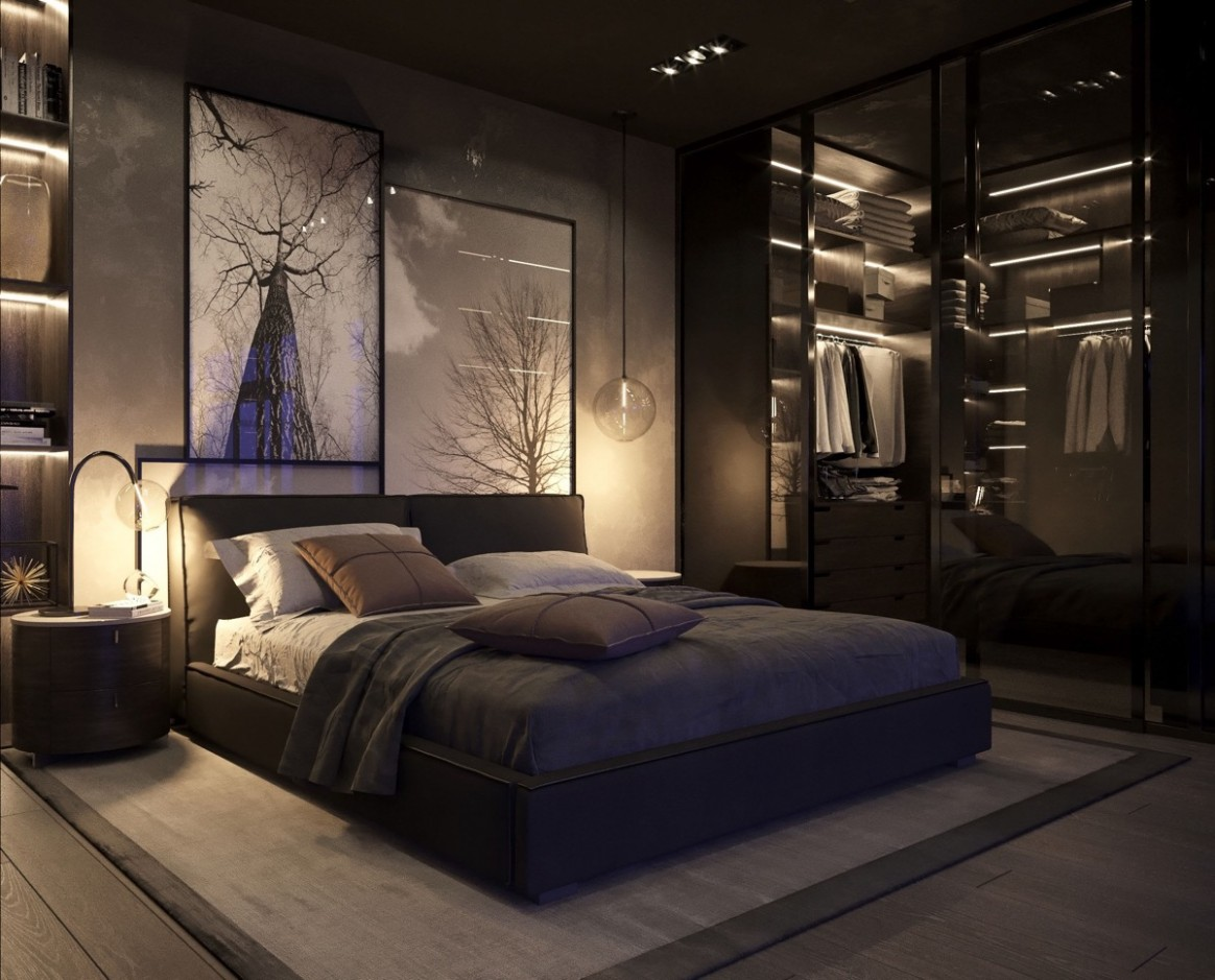 8 Beautiful Black Bedrooms With Images, Tips & Accessories To  - Bedroom Ideas Black