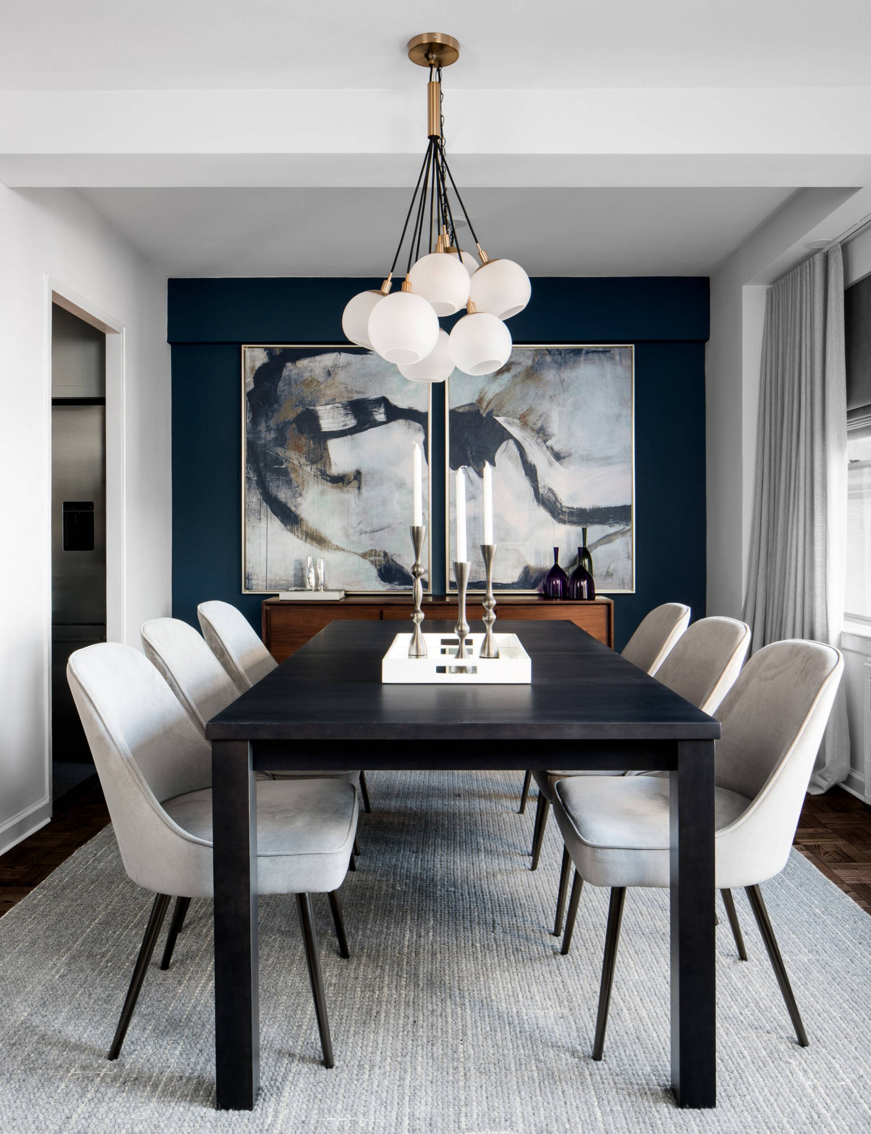 8 Beautiful White Dining Room Pictures & Ideas - October, 8  - Dining Room Ideas Design