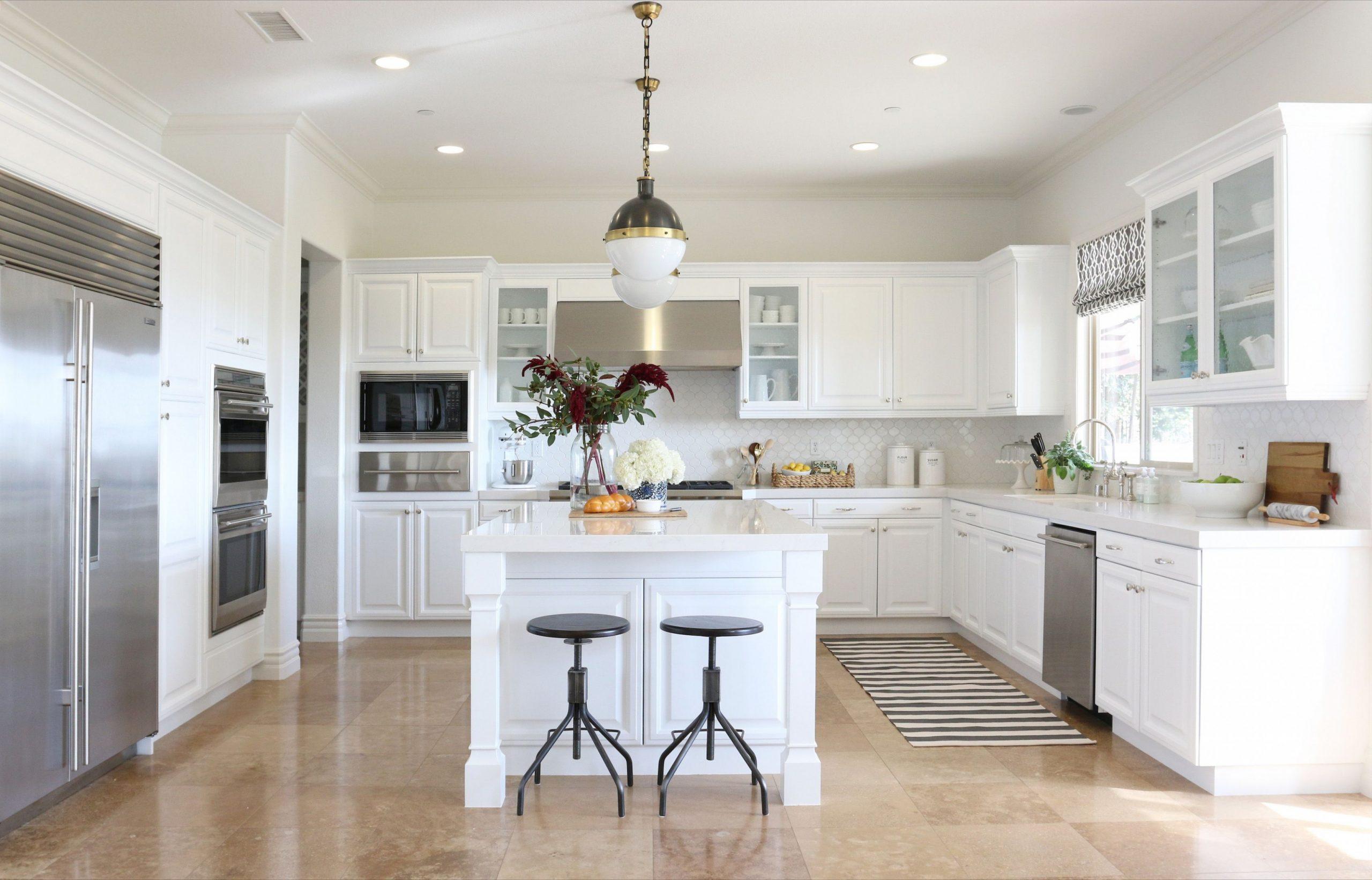8 Best White Kitchen Cabinets - Design Ideas for White Cabinets - Best White Painted Kitchen Cabinets