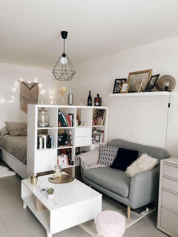 8 Cool Studio Apartment Decorating Ideas - decorationroom  Small  - One Room Apartment Decor Ideas