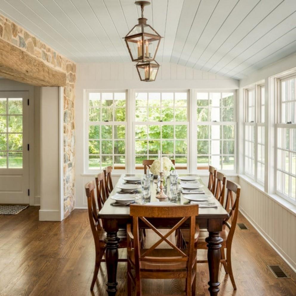 8 Cozy Farmhouse Sunroom Makeover Decor Ideas - setyouroom