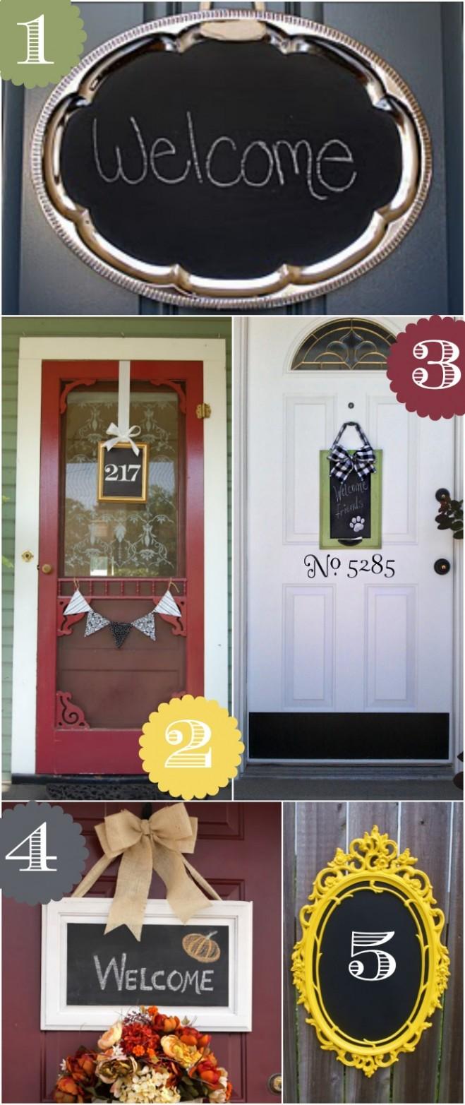 8 Creative Front Door Decor Ideas not a wreath - Apartment Door Decor Ideas