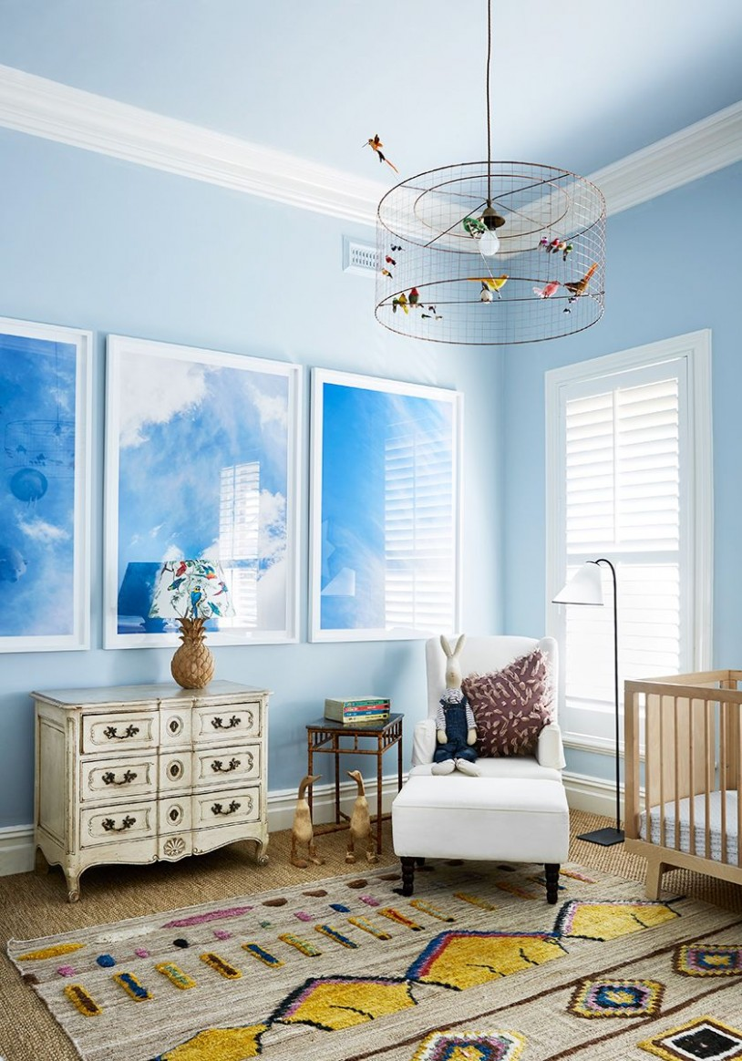 8 Cute Nursery Decorating Ideas - Baby Room Designs for Chic Parents - Baby Room Wall Ideas