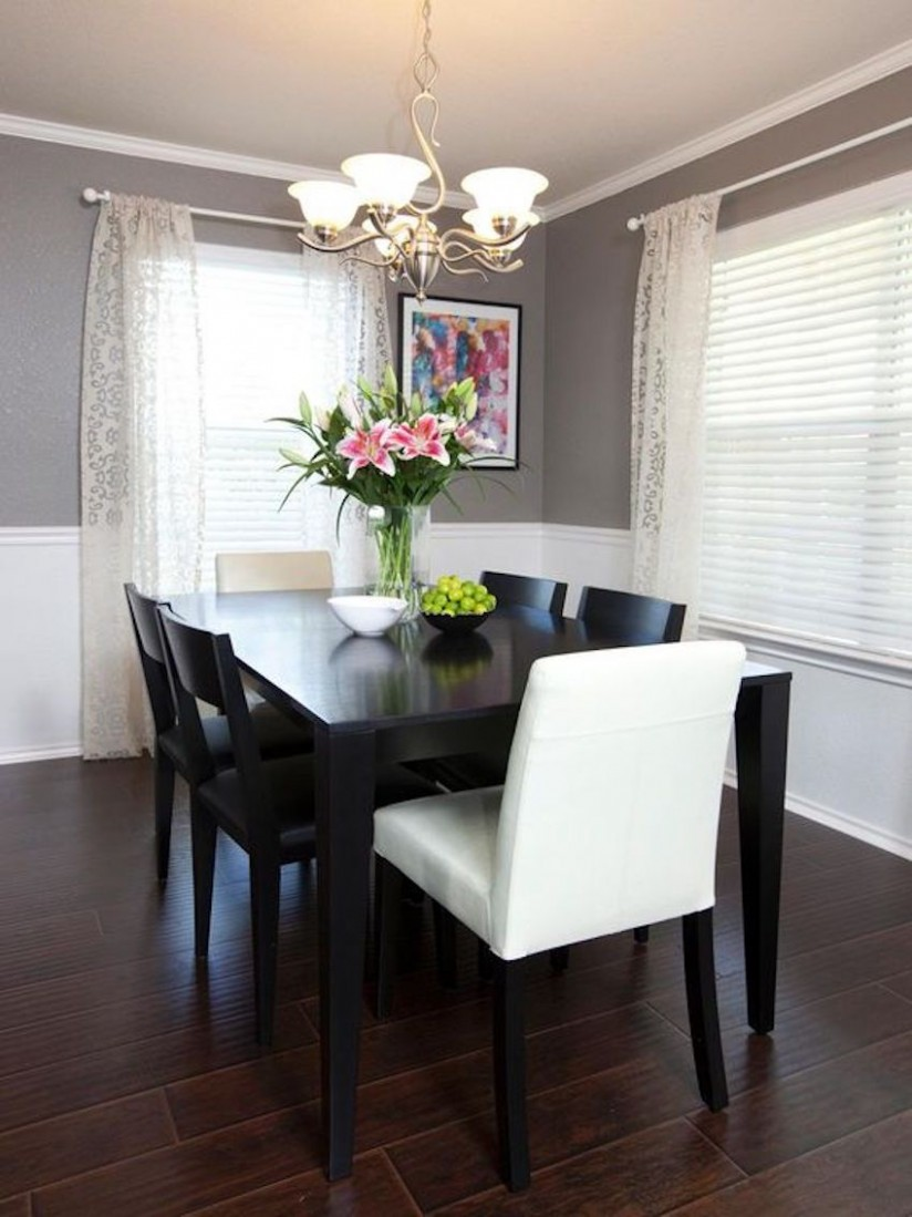 8 Gorgeous Black Dining Tables for Your Modern Dining Room  - Dining Room Ideas Black And White