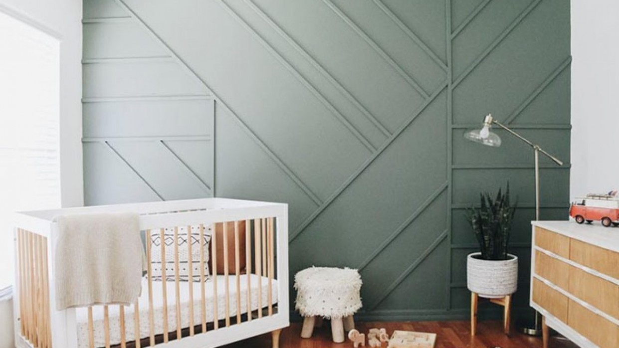 8 Showstopper Baby Nursery Accent Wall Ideas - Baby Room Wall Ideas