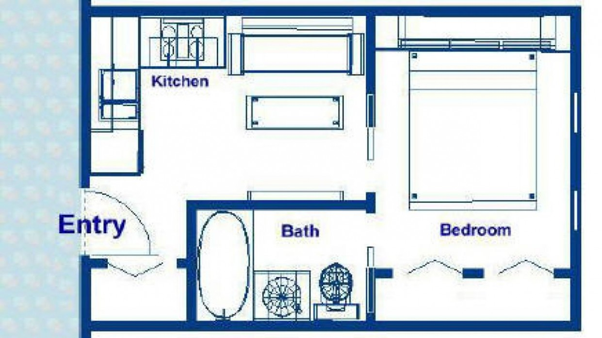8 Sq FT Cabin Plans Under 8 Sq FT Home, 8 square   Tiny  - Tiny Apartment Design Under 200 Sf
