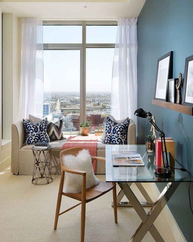 8 Versatile Home Offices That Double as Gorgeous Guest Rooms  - Home Office Ideas Spare Bedroom