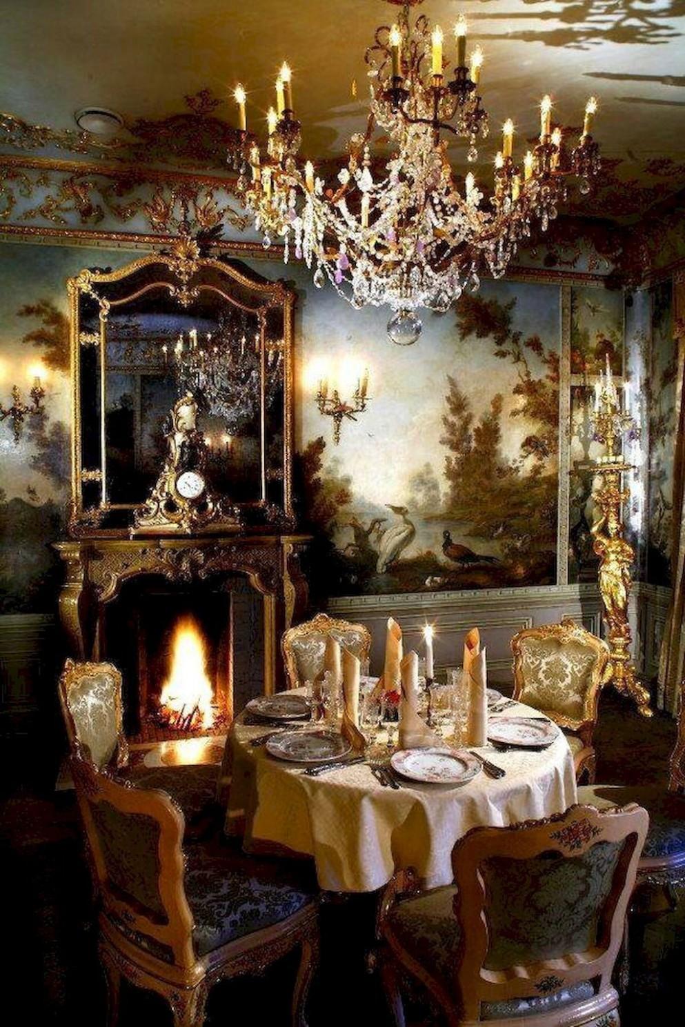 8 vintage victorian dining room decor ideas (8)  Dining room  - Dining Room Ideas Victorian