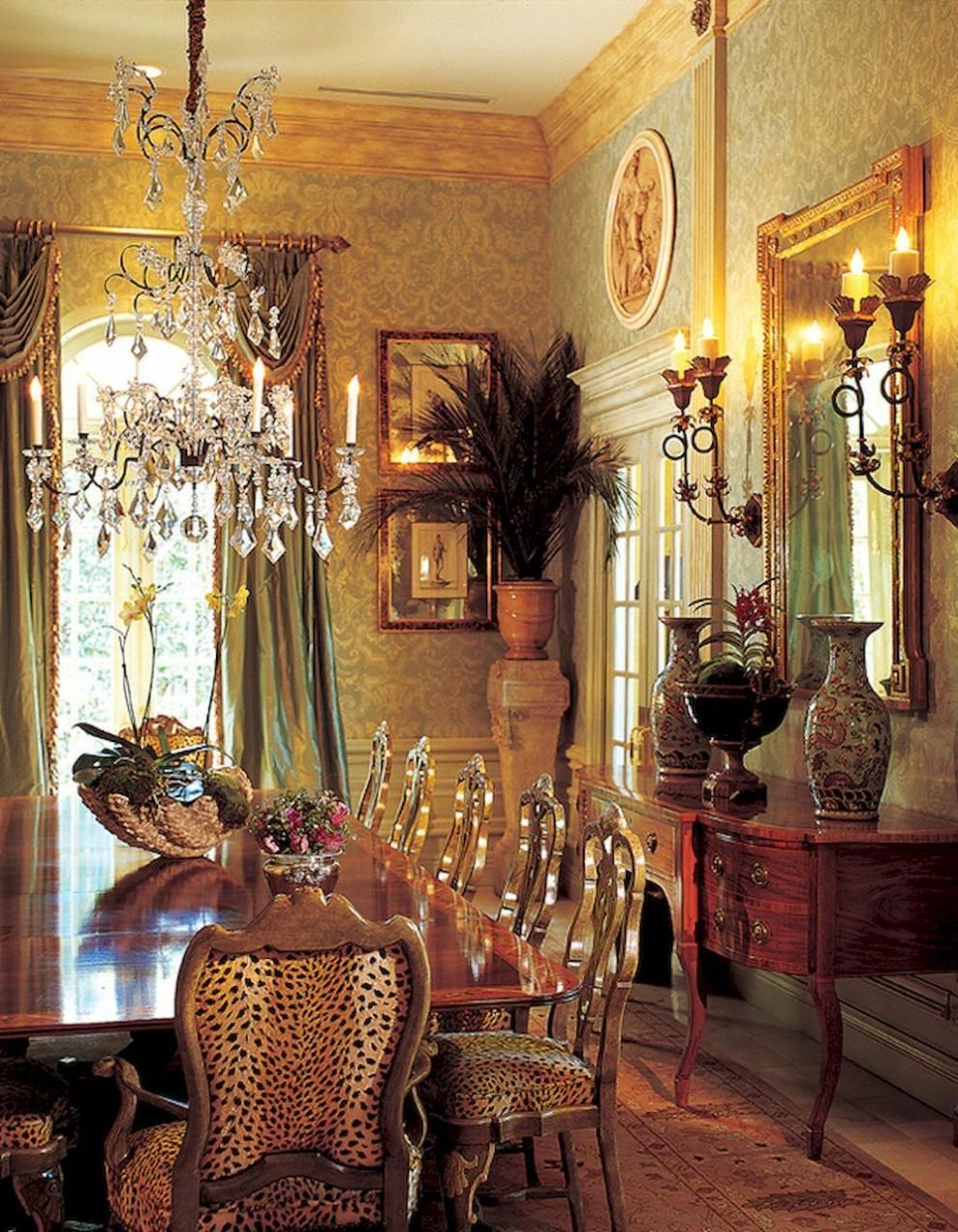 8 vintage victorian dining room decor ideas (8)  Victorian  - Dining Room Ideas Victorian