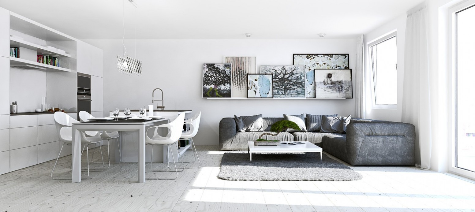 8 Ways To Divide A Studio Apartment Into Multiple Rooms - One Room Apartment Decor Ideas