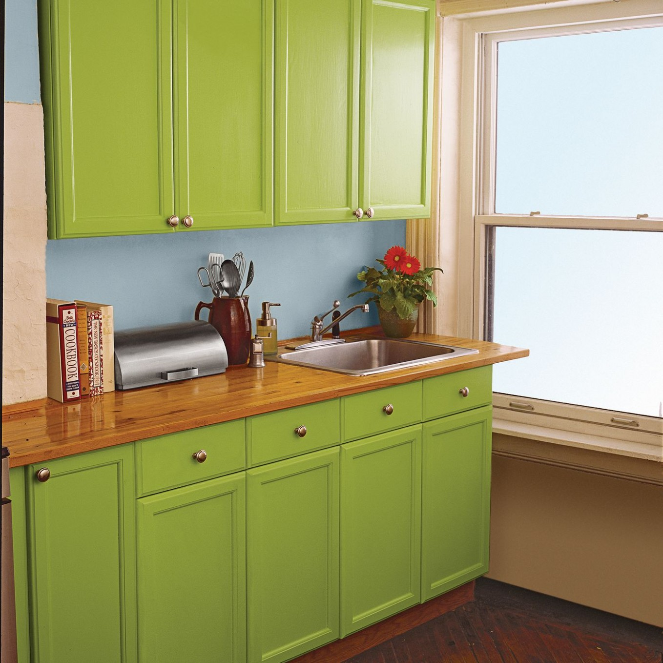 8 Ways to Redo Kitchen Cabinets Without Replacing Them - This Old  - 24 Kitchen Cabinet Base Box Only Natural Wood