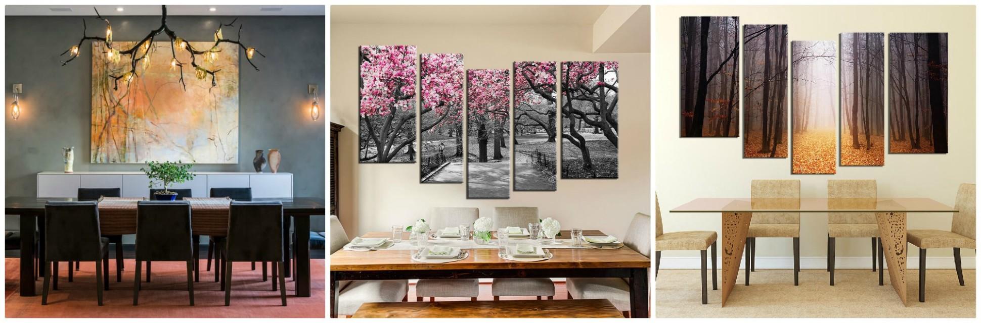 9 Beautiful Tree Wall Art Ideas To Decor Dining Room Interior  - Dining Room Artwork Ideas