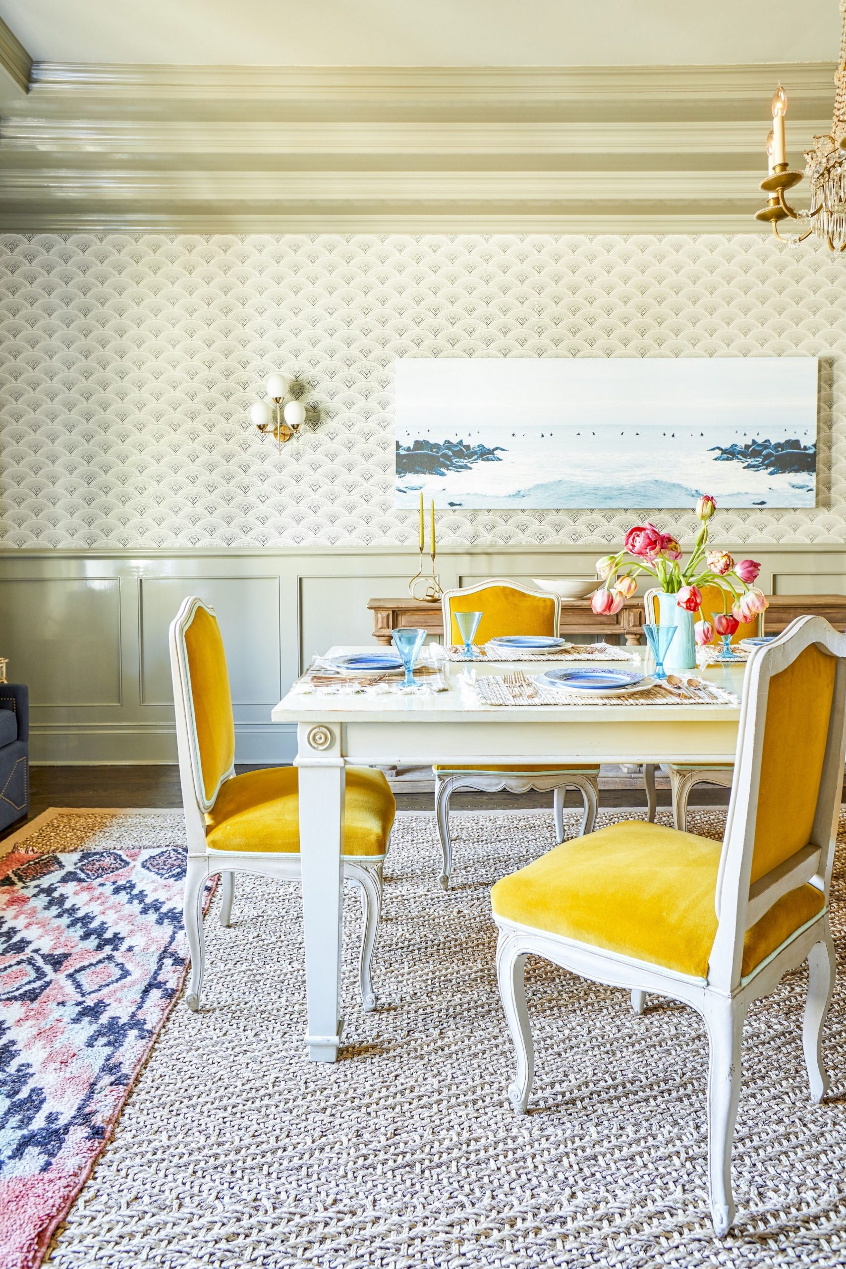 9 Best Dining Room Decorating Ideas - Pictures of Dining Room Decor - Light Yellow Dining Room Ideas