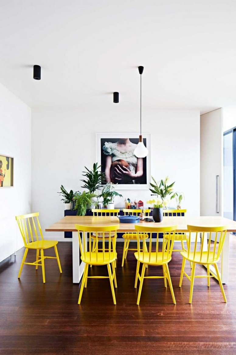 9 Best Dining Room Ideas That Will Inspire You - Page 9  Dining  - Light Yellow Dining Room Ideas