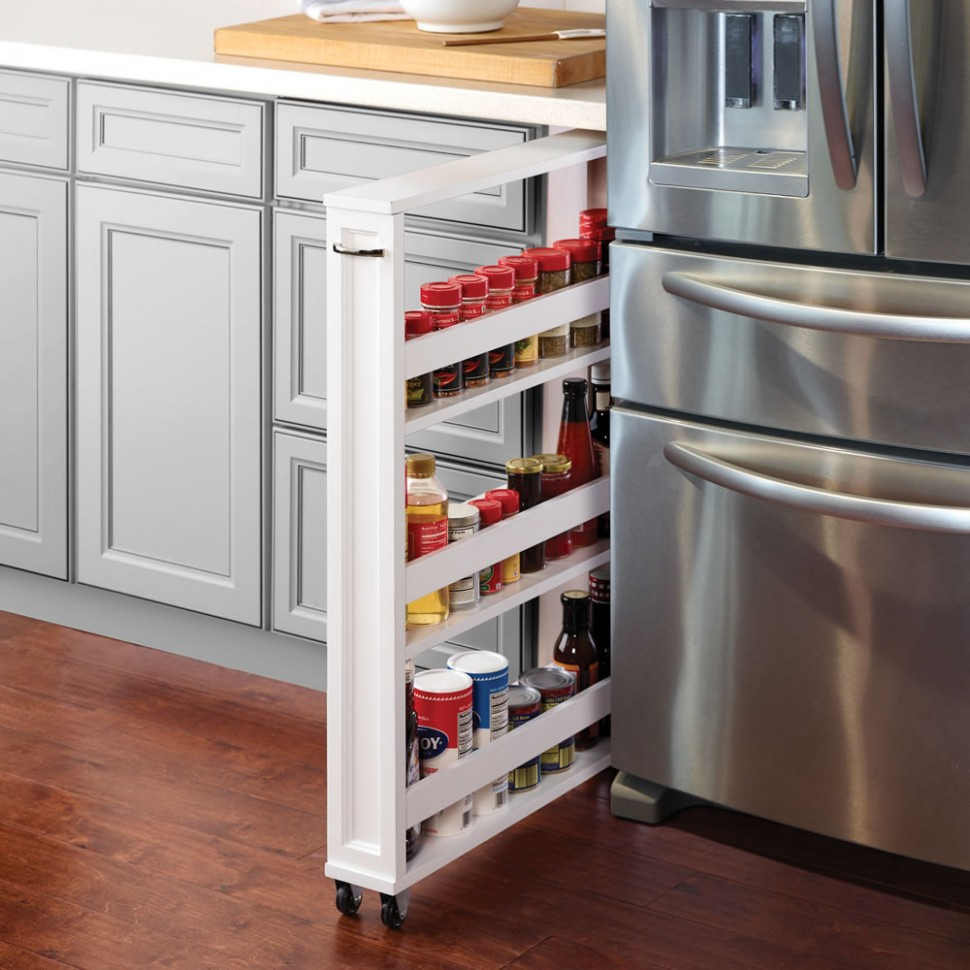 9 Best Narrow Cabinets - Slim Cabinets for Small-Space Storage  - What To Do With Skinny Vertical Cabinet Kitchen