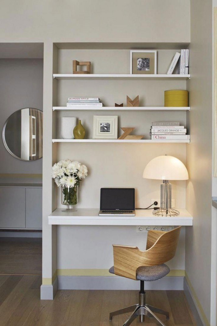 9 Charming Small Office Ideas Pinterest in 9  Modern home  - Home Office Ideas On Pinterest