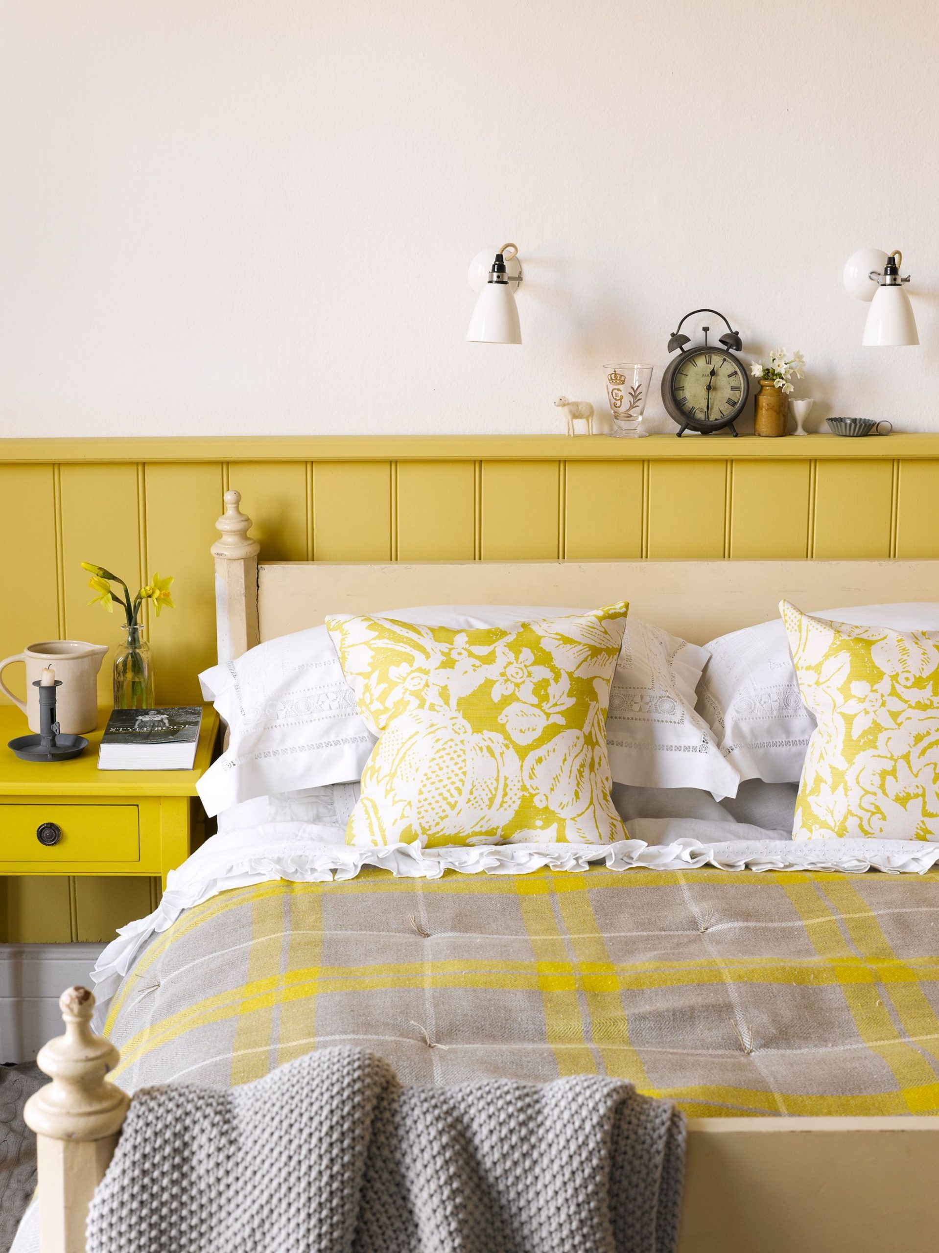 9 Cheerful Yellow Bedrooms - Chic Ideas for Yellow Bedroom Decor - Bedroom Ideas Yellow