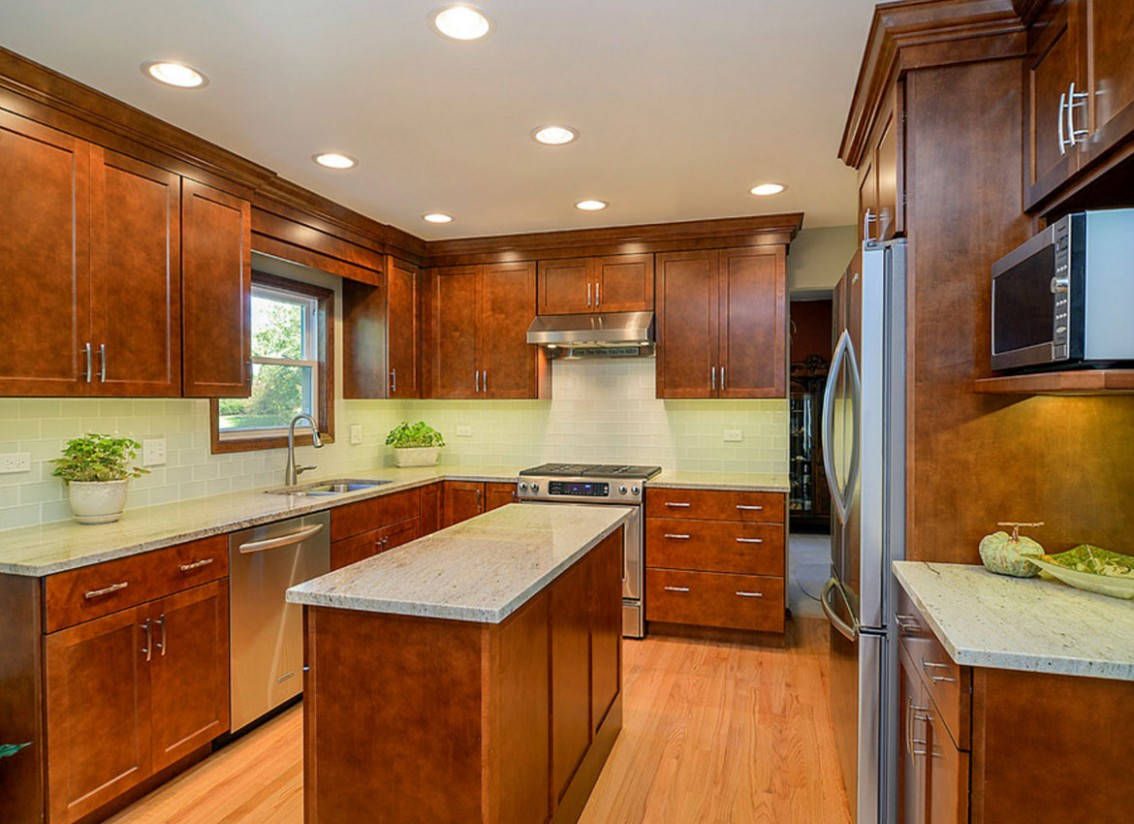 9 Classy Projects With Dark Kitchen Cabinets  Home Remodeling  - Brown Colored Kitchen Cabinets