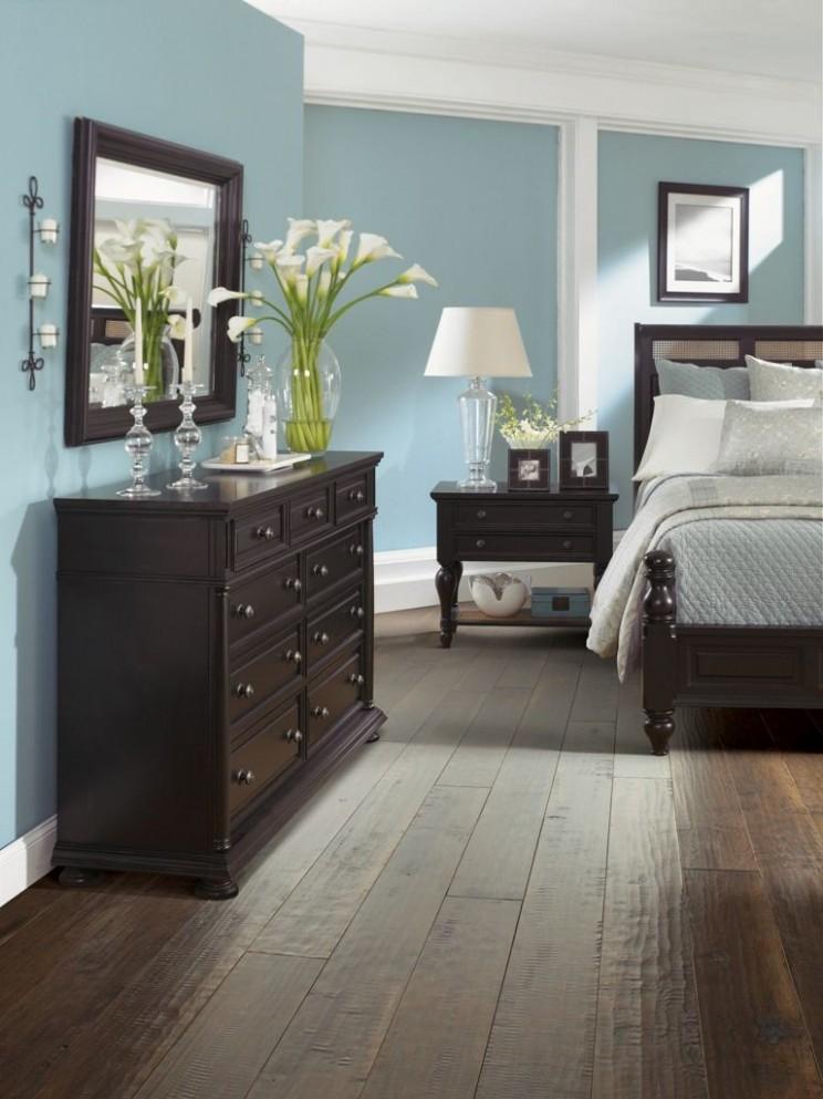 9 Dark Wood Bedroom Furniture Decorating Ideas  Bedroom makeover  - Bedroom Ideas With Dark Furniture
