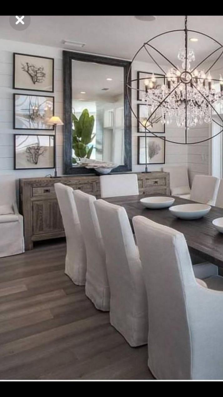 9 Dining Room Decoration Ideas  Farmhouse dining rooms decor  - Wall Decor Ideas Dining Room