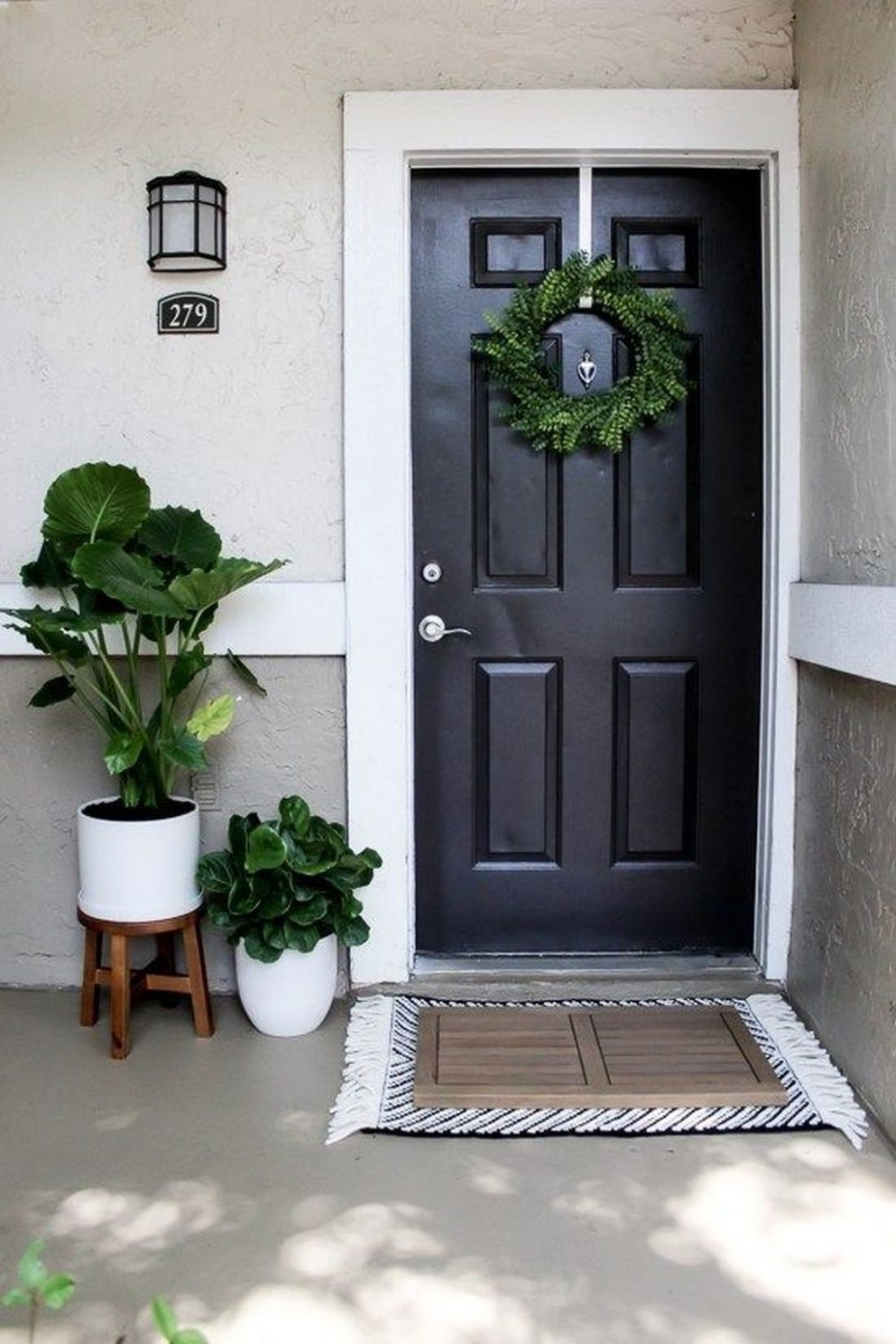 9 Fantastic Front Porch Decor Ideas That You Will Love in 9  - Apartment Front Door Decor Ideas