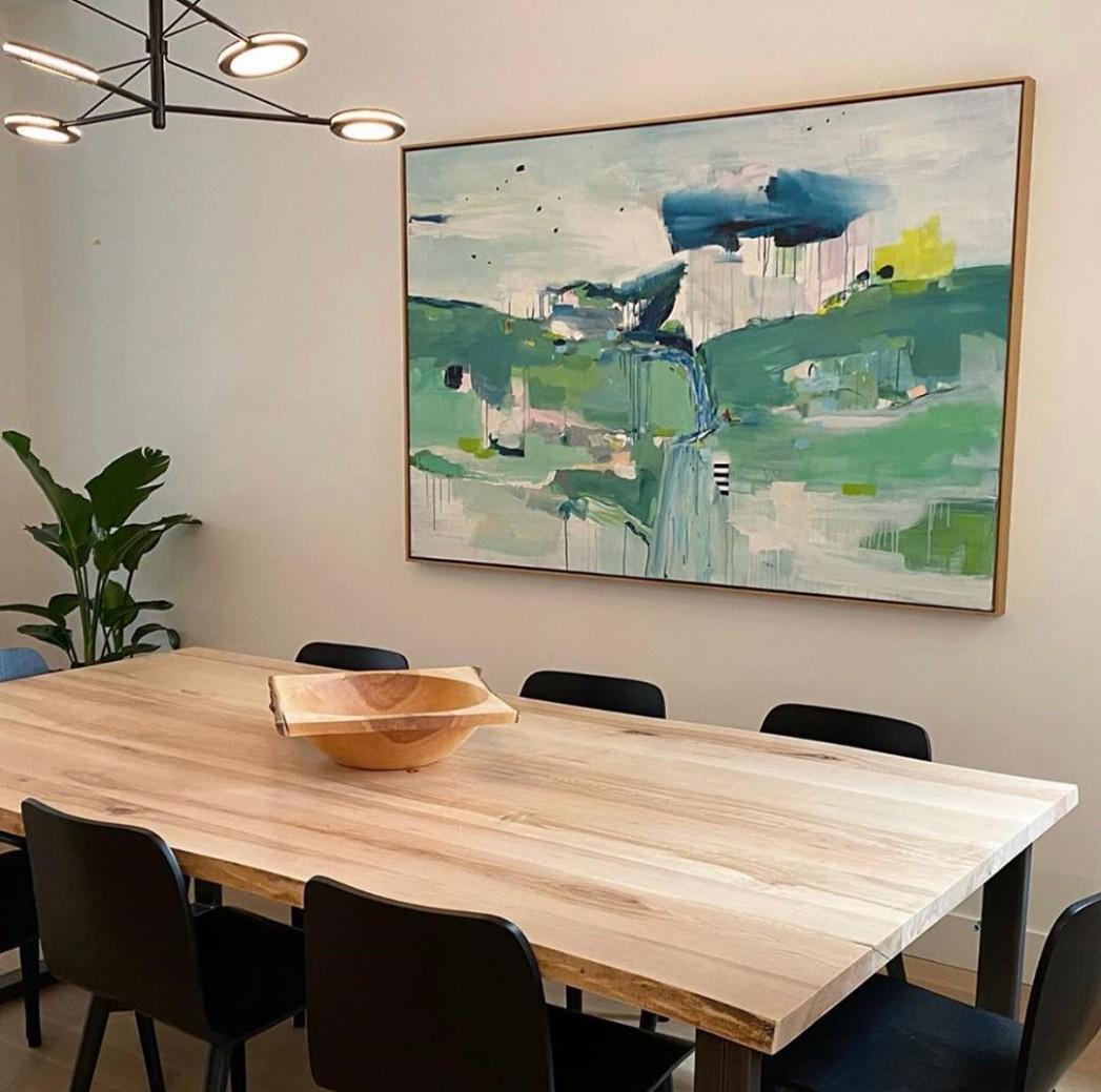 9 Modern Dining Room Ideas - Dining Room Artwork Ideas