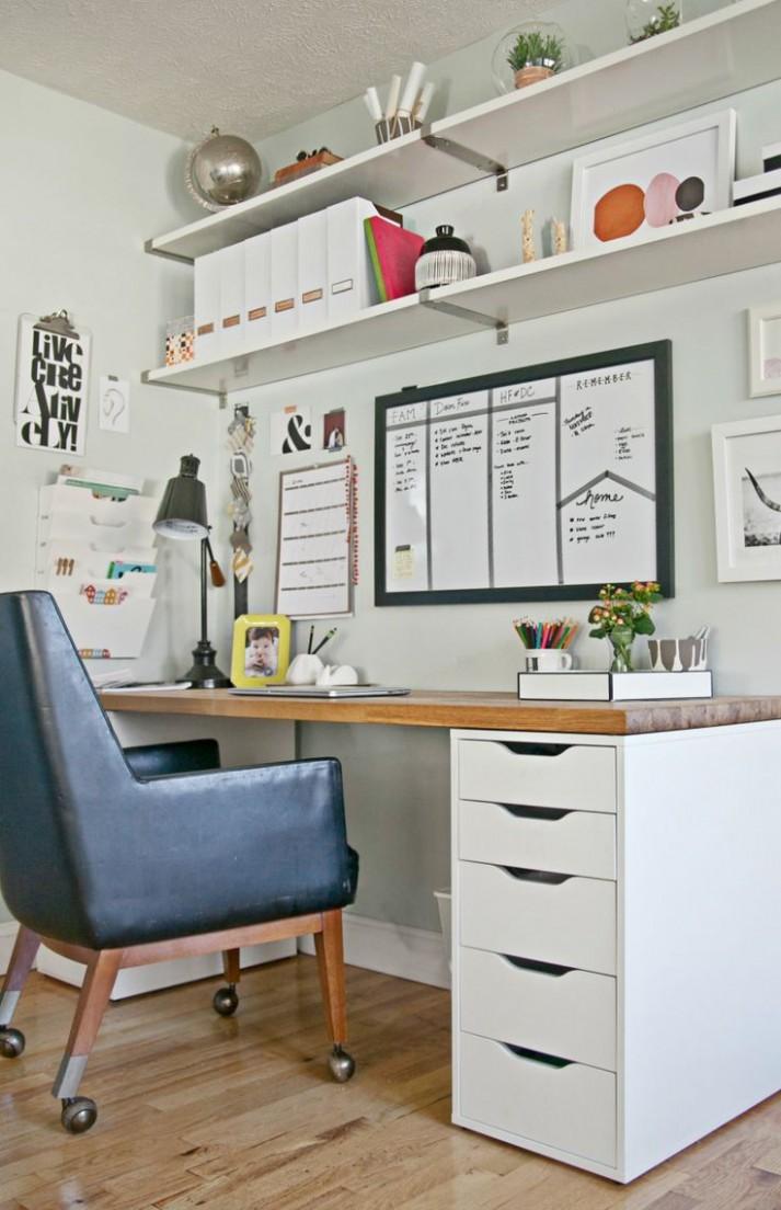 9+ Office Desk Ideas Pinterest - Real Wood Home Office Furniture  - Home Office Ideas On Pinterest