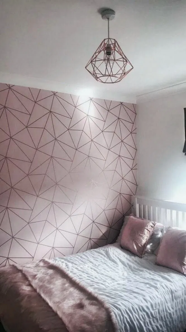 9+ Small Bedroom Ideas That Are Look Stylishly & Space Saving  - Bedroom Ideas Rose Gold