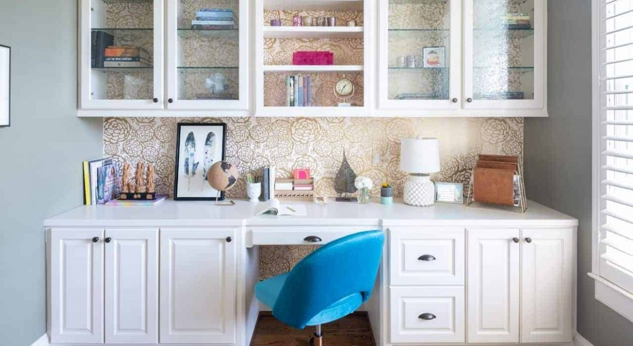 9 Stylish Home Office Design Ideas to Create Your Ideal Workspace  - Home Office Ideas With Kitchen Cabinets