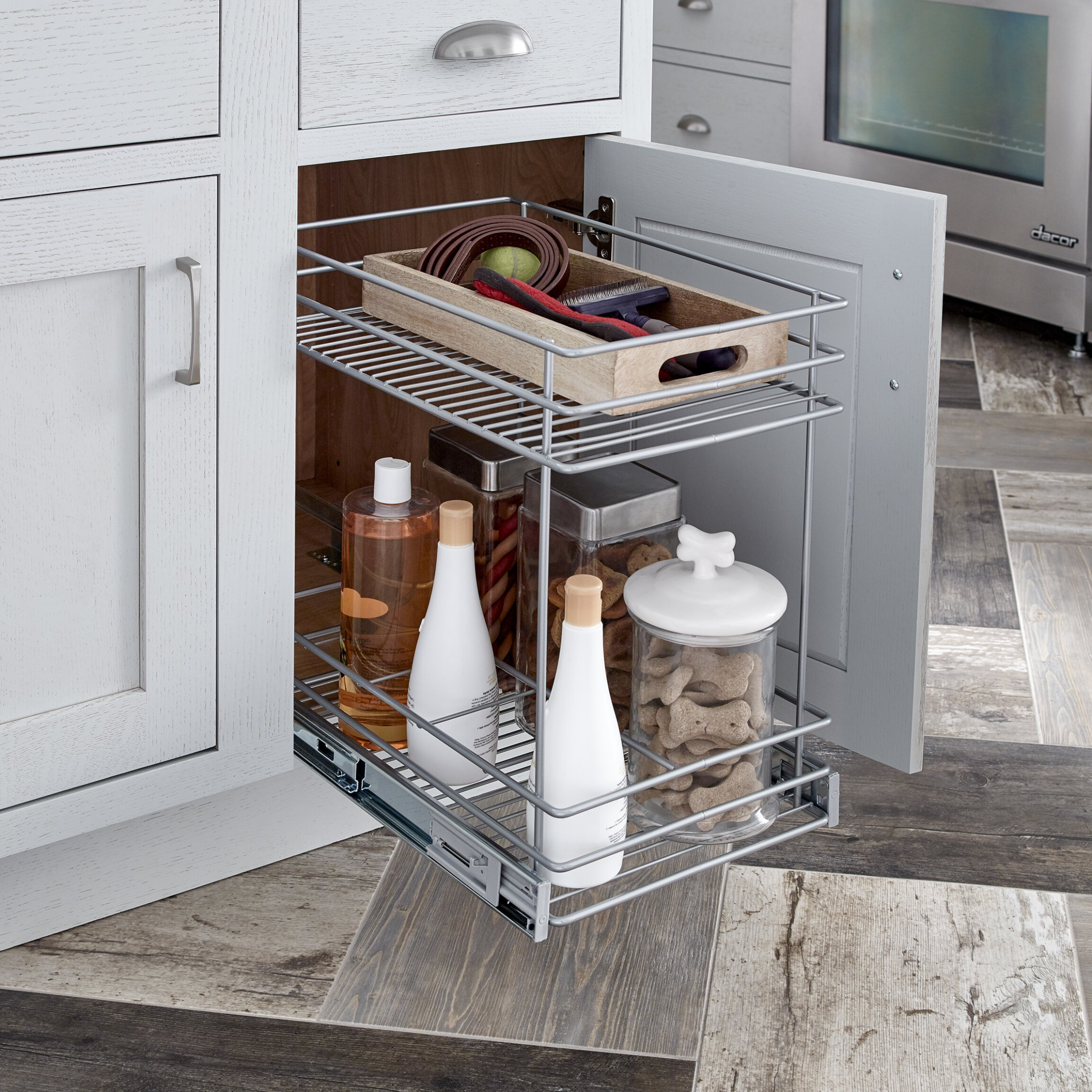 9 Tier Kitchen Cabinet Pull Out Drawer - 26 X10