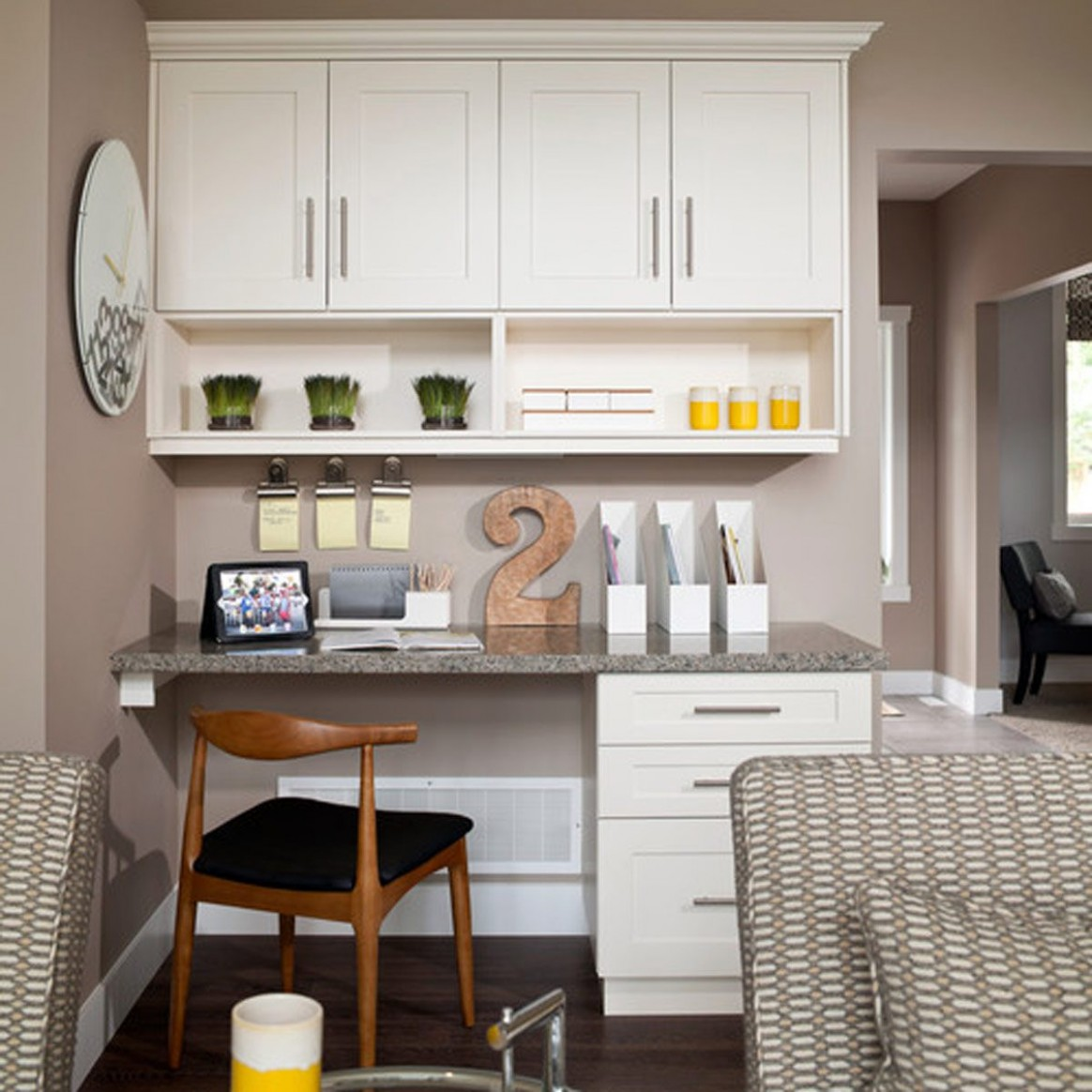 9 Ways to Reuse Your Old Kitchen Cabinets  Family Handyman - Home Office Ideas With Kitchen Cabinets