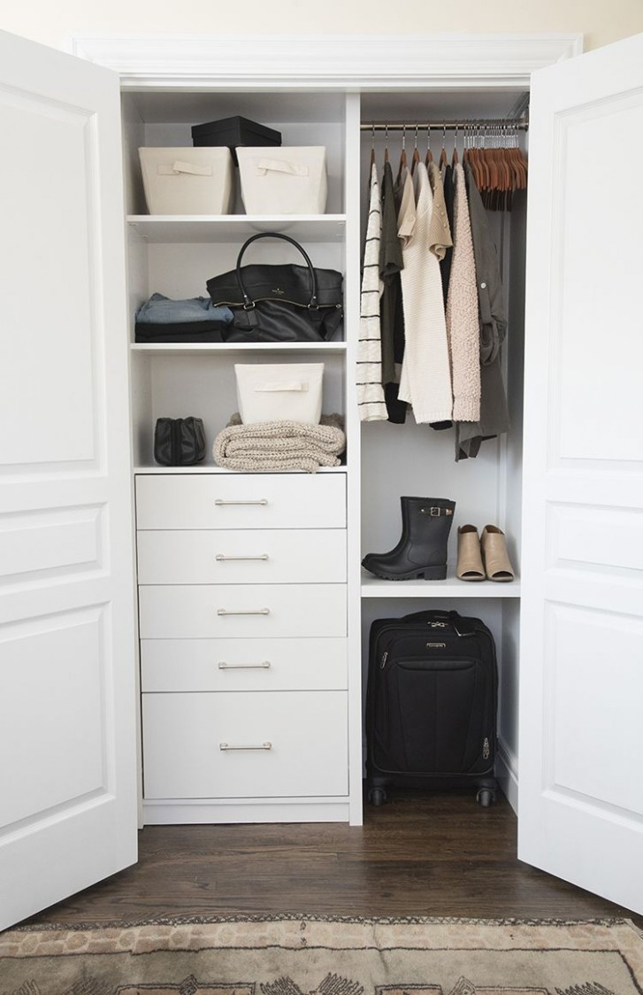 A Custom Closet for the Guest Room - Room for Tuesday  Small  - Laundry Room Guest Bedroom