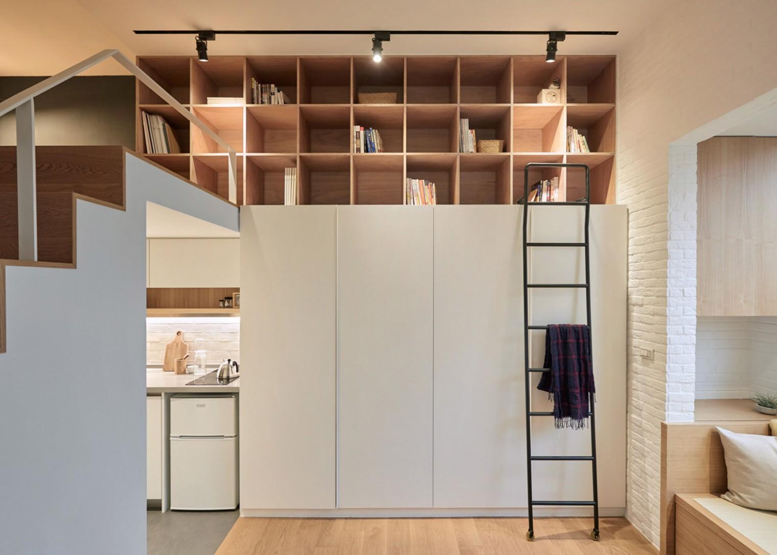 A Little Design creates 112m12 apartment in Taiwan - Apartment Unit Design