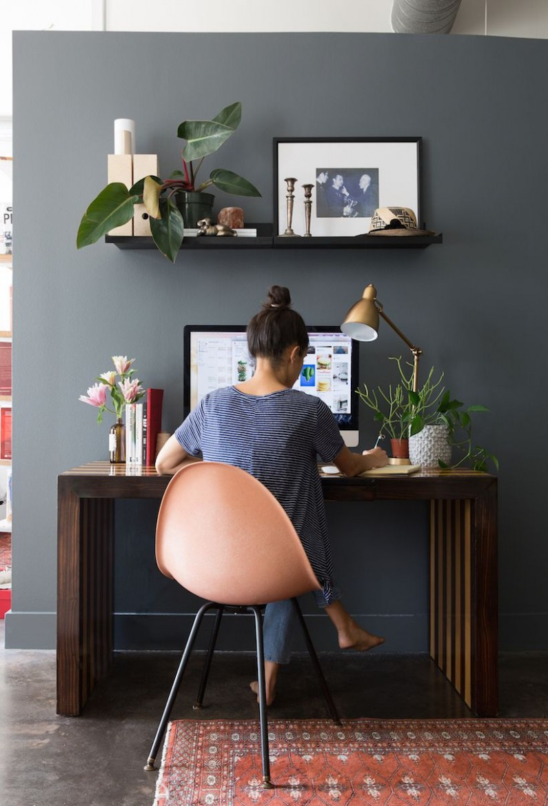 A Moody Home Makeover for Any Space  Home office decor, Home  - Pinterest Home Office Ideas